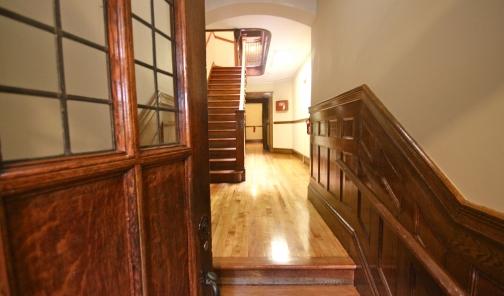 Langdon Square Apartments hallway