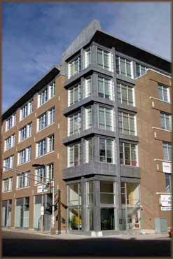 Lofts at East Berkeley building