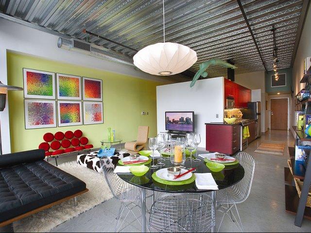Loft 23 living area