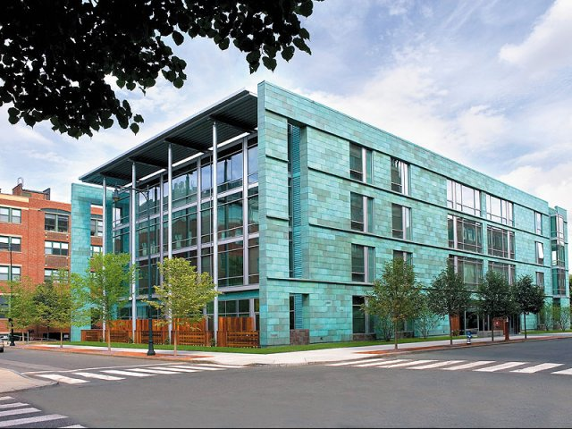 Loft 23 building front view