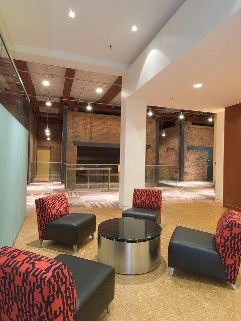 KBL Rentals Cambridge guest waiting area