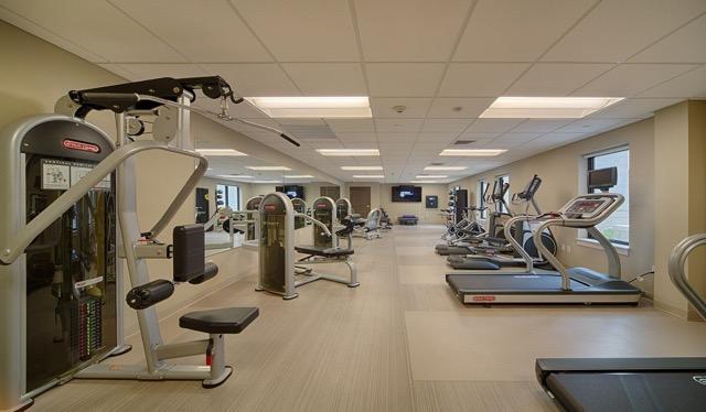 Axiom Apartment Homes fitness center