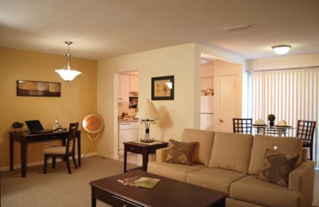 Beacon Village Apartments living room 2