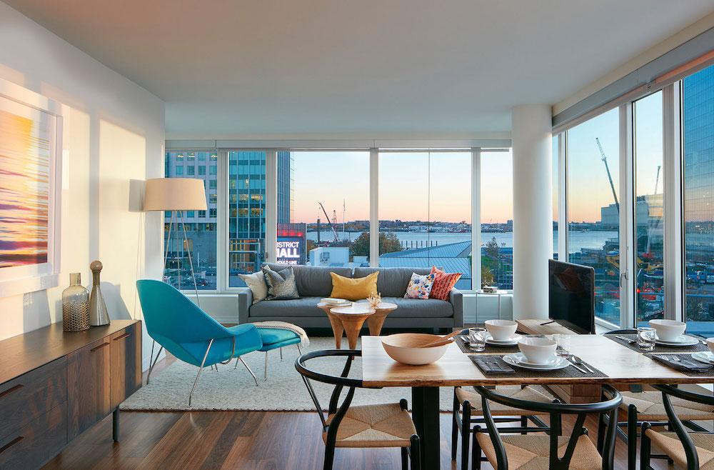 Watermark Seaport Luxury Apartment Building