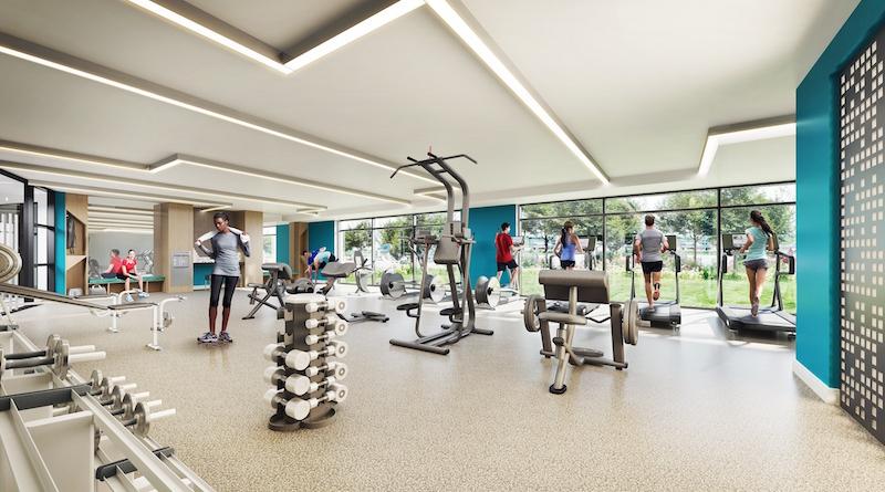 Quarrystone at Overlook Ridge gym