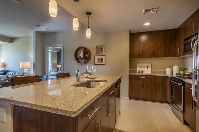 Quarrystone at Overlook Ridge kitchen
