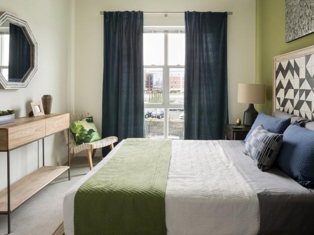 One North of Boston bedroom