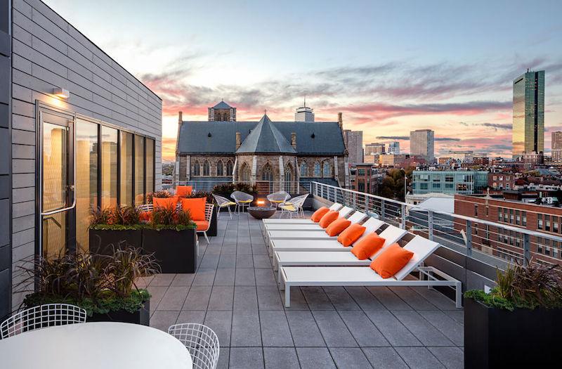 Girard rooftop