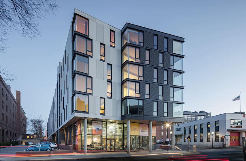 Girard luxury apartment building