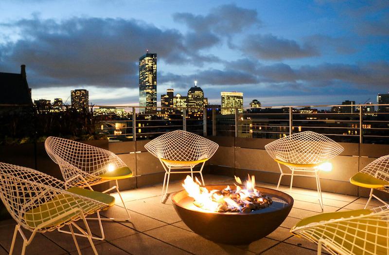 Girard rooftop deck