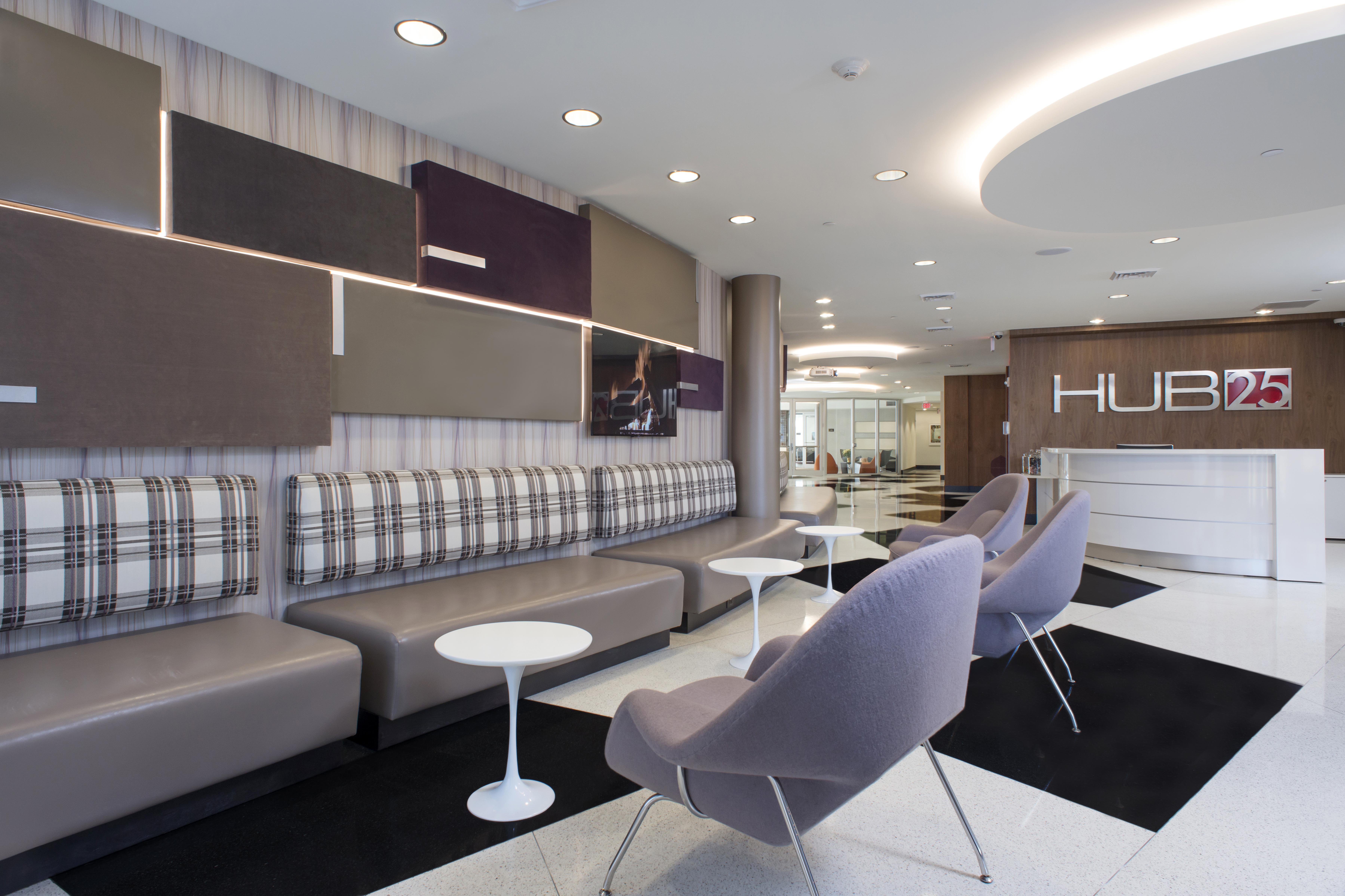 Hub 25 lobby