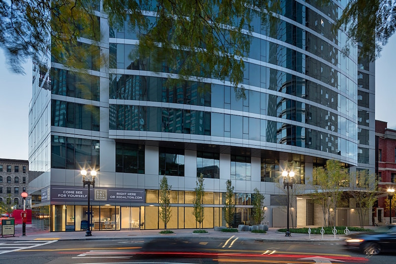 30 Dalton luxury apartment building in Back Bay Boston