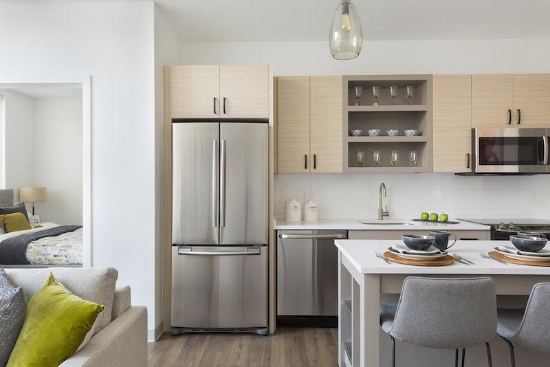 serenity luxury apartments kitchen