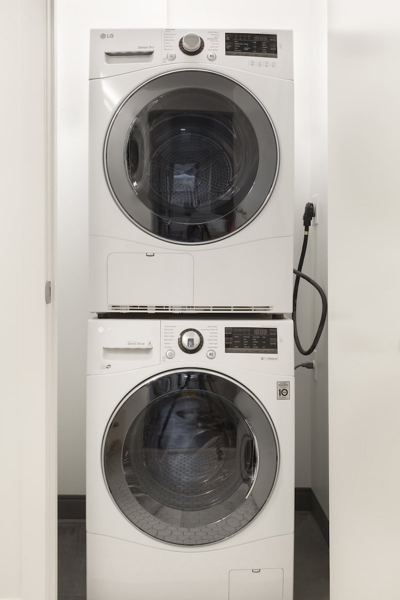 serenity luxury apartments washer & dryer in unit