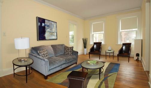 Chauncy Court living room