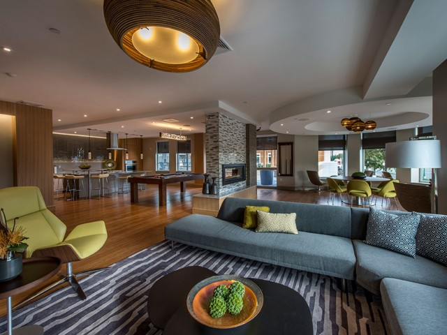 Lumiere Club Room Medford Luxury Apartments