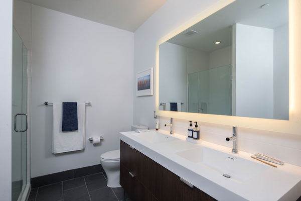 Radian bathroom