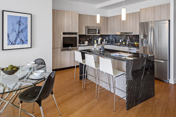 Radian Penthouse kitchen