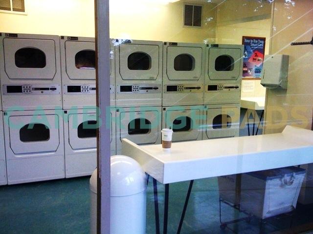 100 Memorial Drive Laundry Room