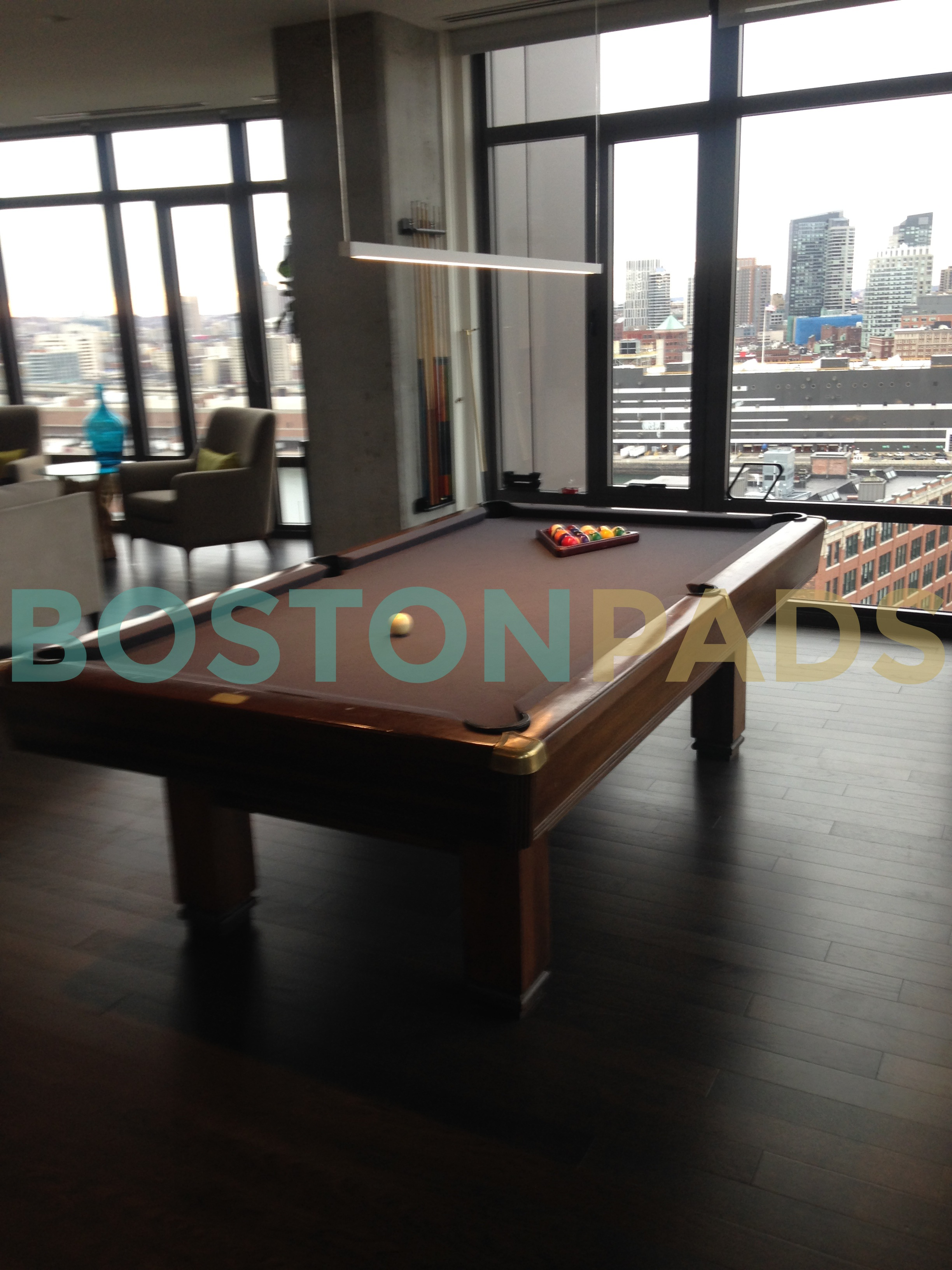 315 on A pool table