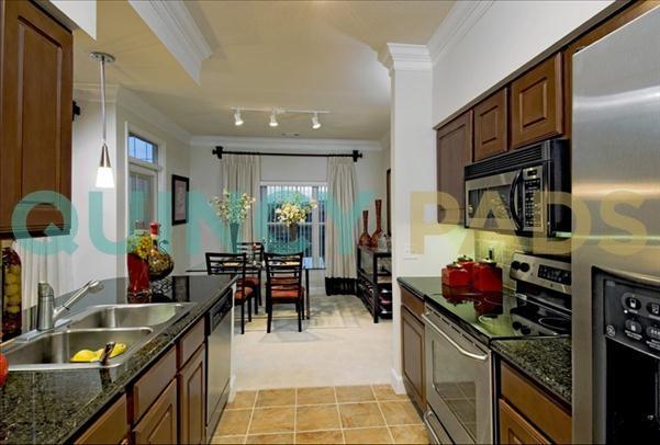 Quarry Hills Apartments kitchen