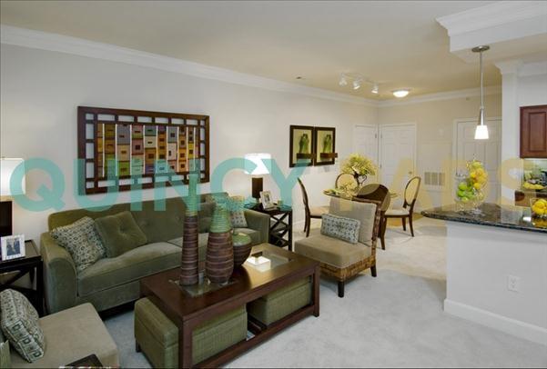Quarry Hills Apartments living room