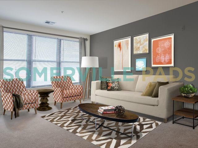 Avalon at Assembly Row living rooms