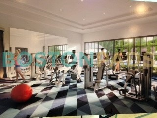 Residences at Stevens Pond fitness studio
