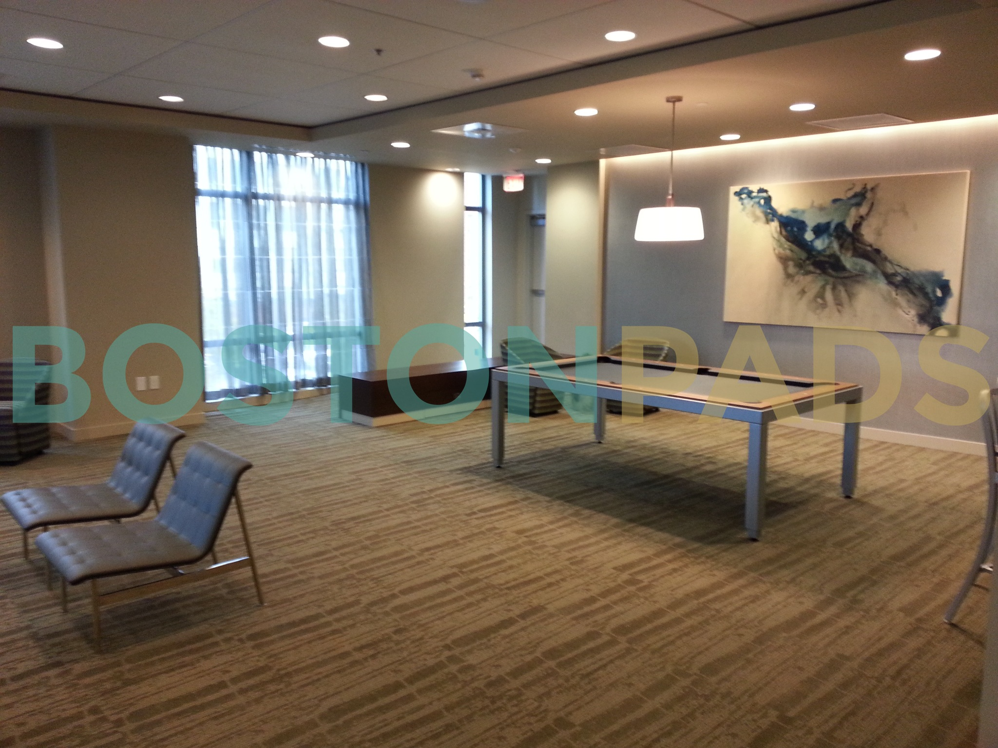 The Victor conference room
