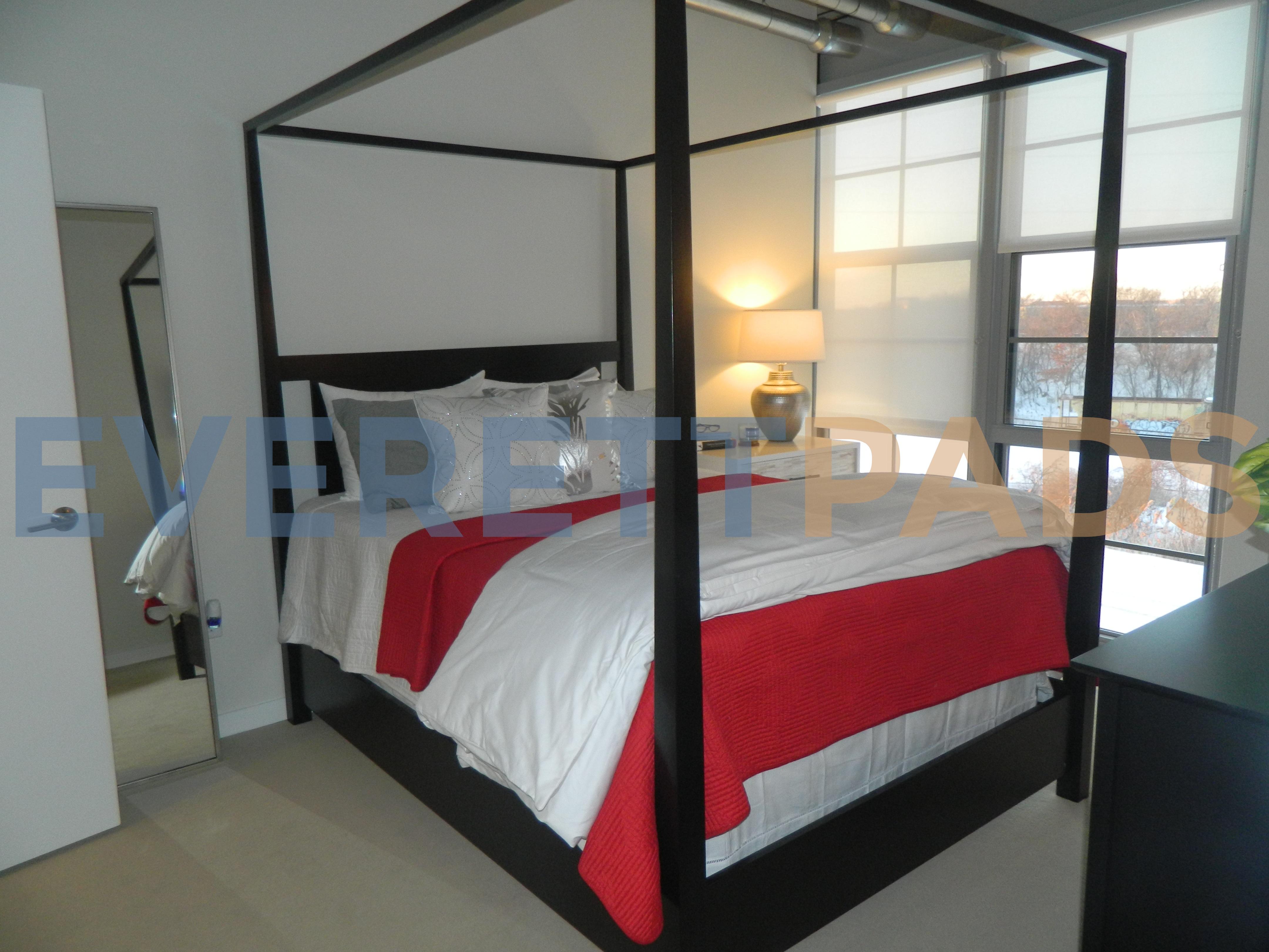 The Batch Yard bedroom