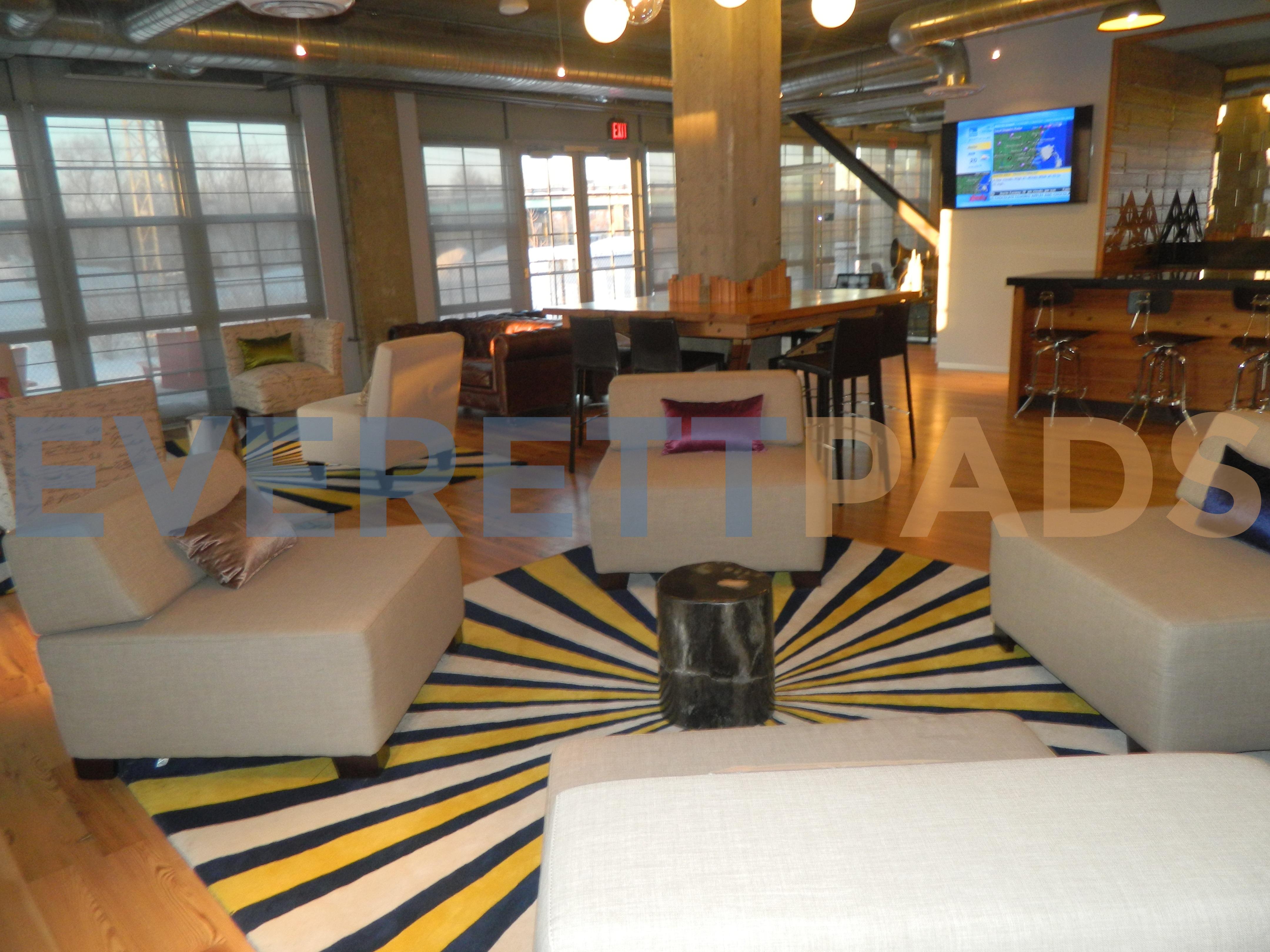 The Batch Yard resident lounge