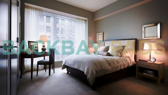 One Back Bay bedrooms
