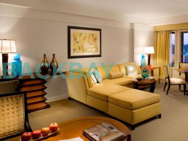 Mandarin Oriental living room