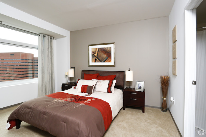 Watermark Kendall West Cambridge MA bedroom