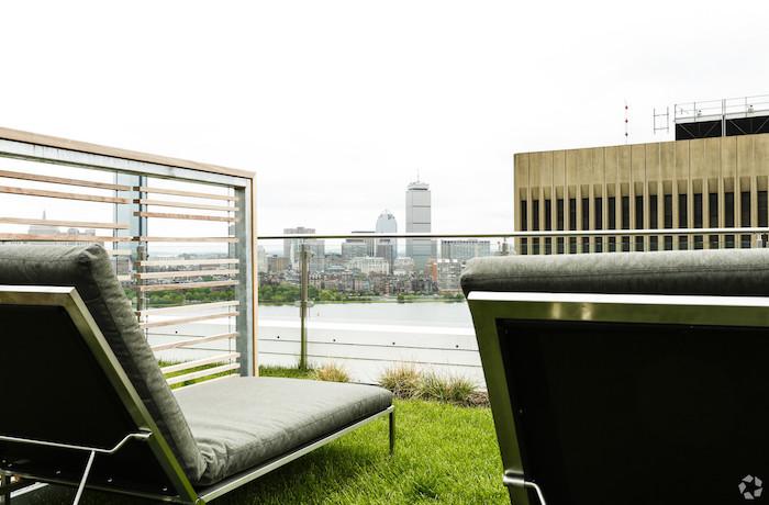 Watermark Kendall West Cambridge MA rooftop deck
