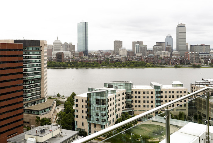 Watermark Kendall West Cambridge MA view of Boston