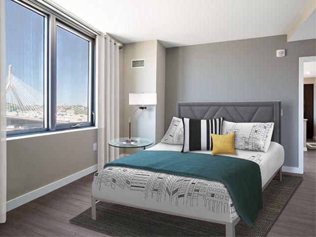 Avalon North Station bedroom