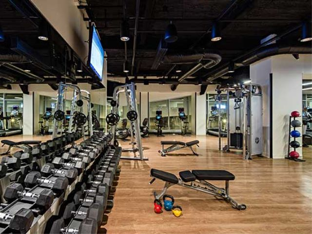 Avalon North Station gym