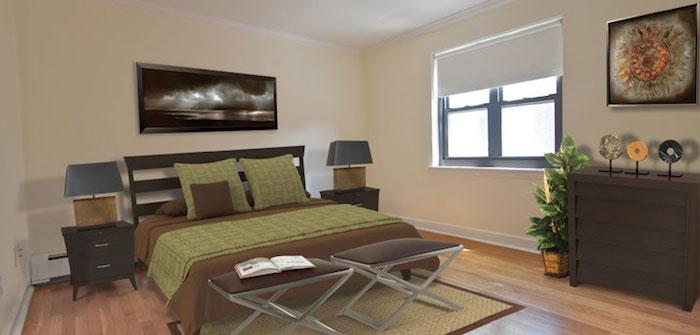 Harvard Terrace bedroom