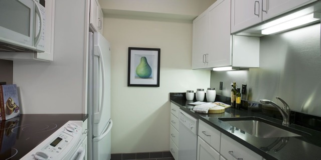 The Devonshire Boston -residences-kitchen-area
