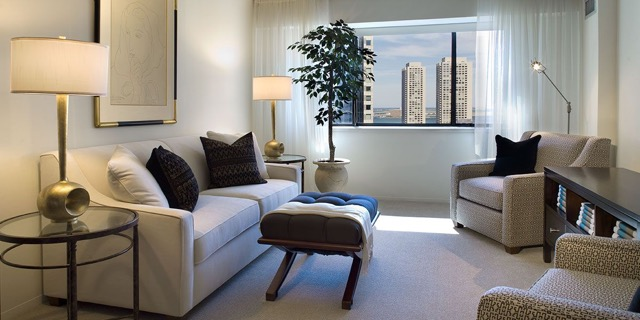 The Devonshire Boston -residences-living-room