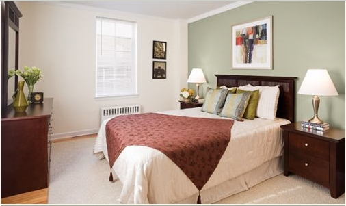 Brattle Arms Campbridge MA bedroom