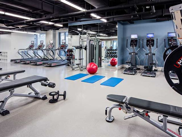 Avalon at Exeter Boston MA fitness centre
