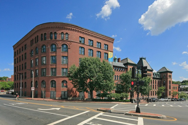 Baker Chocolate Factory Boston front view