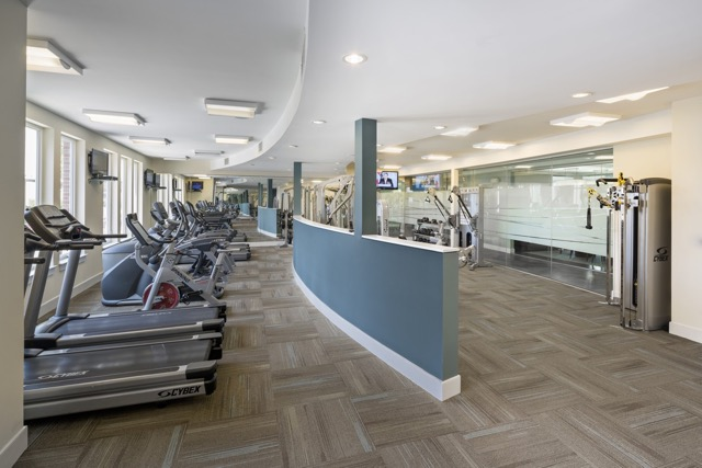The Residence at Rivers Edge fitness center