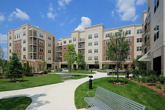 Brigham Square Arlington front view