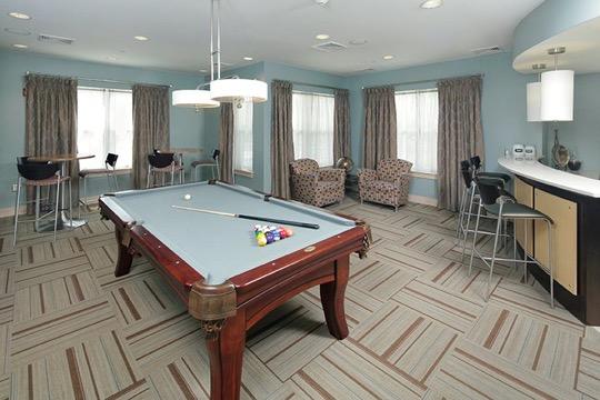 Brigham Square Arlington community room