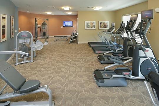 Brigham Square Arlington fitness center