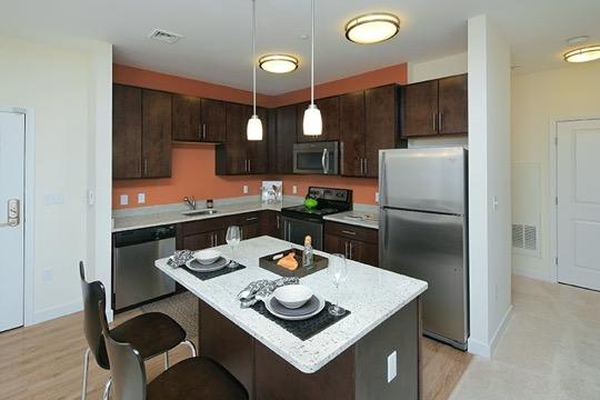 Brigham Square Arlington kitchen