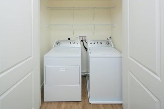 Brigham Square Arlington washer dryer